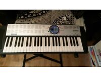 Yamaha PSR - 125 electronic organ with original box. Comes with a folding stand.
