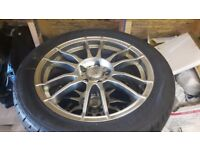 4 Alloy Wheels + Tyres