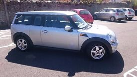 Mini Cooper Clubman 2009 with removable towbar
