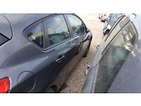 ASTRA MK 6 / J DRIVERS REAR DOOR IN GREY 2012 BREAKING HATCHBACK
