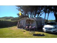 Isabella Capri lux caravan awning
