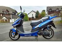 Lexmoto gladiator 125cc 2012 swap auto car with or without mot