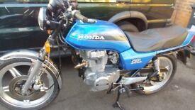 Honda Superdrean CB250na 1980