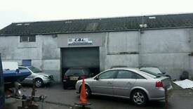 CAR WORKSHOP/GARAGE TO LET