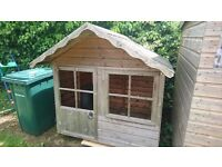 Childrens Wooden Play House for the Garden