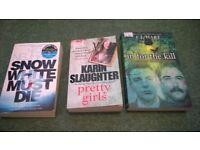crime books three books