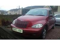 Chrysler PT Cruiser 2ltr Petrol