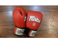 Fairtex boxing gloves 14oz