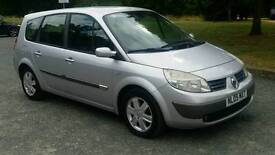7 SEATER***RENAULT GRND SCENIC DYNAMIQUE DCI 1.9cc***DIESEL**SERVIC HISTORY** MOT&TAX*ALLOY WHEEL*