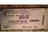 Red Hot Chilli Peppers Tickets