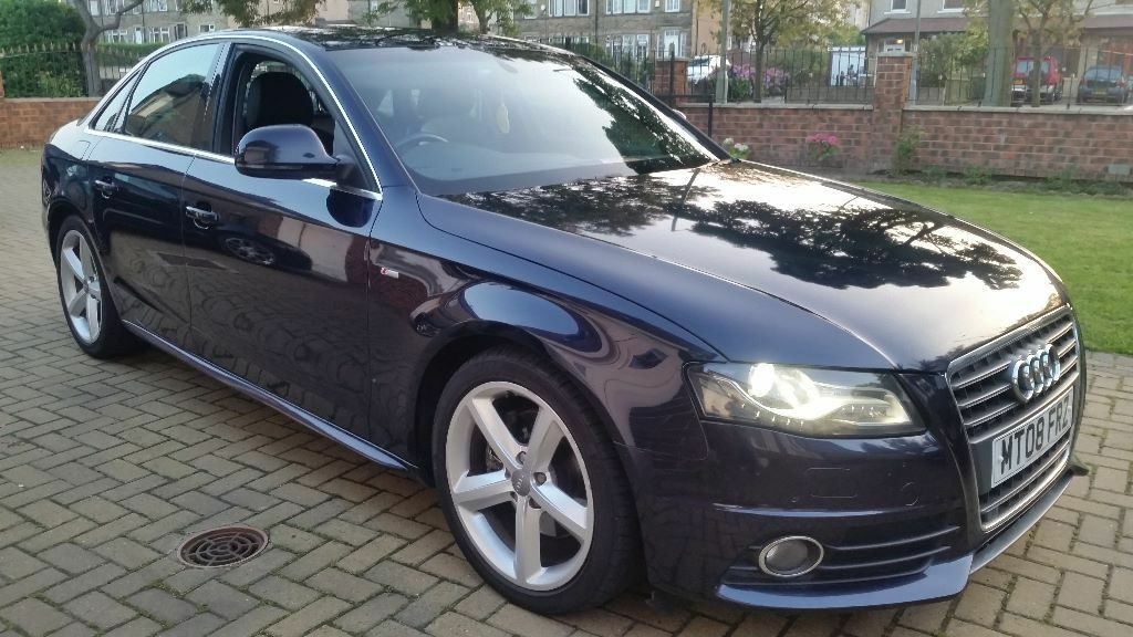 2008 audi a4 b8 2 0tdi s line stunning fully loaded not golf gtd bmw s3 rs3 rs4 leon x5 q7 325. Black Bedroom Furniture Sets. Home Design Ideas