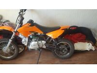 Semi automatic pitbike for sale or swap NO TIME WASTERA