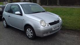 2002 Volkswagen Lupo.1.0 litre...Brand new mot