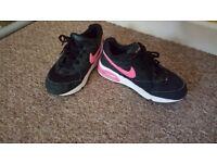 Nike air max trainers.