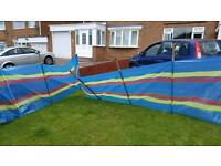 9 pole windbreak