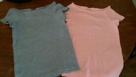 2 girls Zara tops