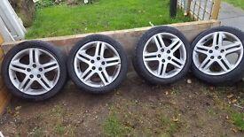 Honda Alloy Wheels 5 x 114.3 PCD