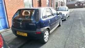 Vauxhall corsa 1.2 SXI 4 door 1 owner nice car long mot