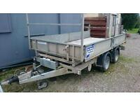 Ifor williams tt126 3.5t tipper tipping trailer