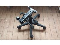 NEW 3 Lever Replacement Office Chair Base Plate Mechanism +Gas Cylinder +5 Star Base + wheels