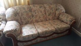 Three piece suite. In great condition