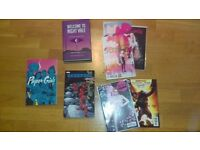 Various comics and books (All or separate)