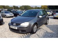 Volkswagen GOLF FSI S 1390cc Petrol, Hatchback, Grey, Manual, 2005(55) Full Mot.