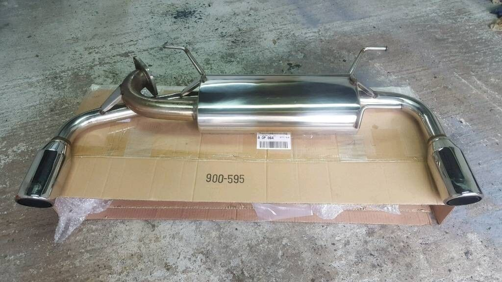 Mazda mx5 stainless dual exhaust mk2 mk2 5 | in Dungannon, County Tyrone |  Gumtree