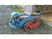 RANSOMES MG6 crawler tractor. Vintage.ferguson.dexta.fordson