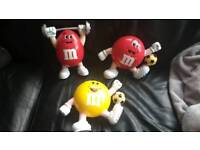Mars M&M's Collectable money boxes
