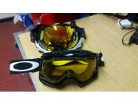 Oakley ski or snowboard or motorcross goggles