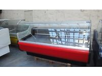 Serve Over Counter Display Fridge Meat Chiller 200cm (6.6 feet) ID:T2305