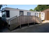 Static caravan ramp/steps