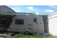 Bailey Ranger 380/2 2000, 2 berth lightweight caravan