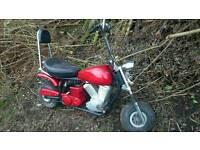50cc kids chopper bike