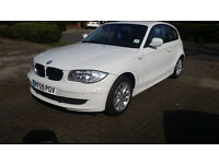 IMMACULATE white automatic bmw 1 series low mileage