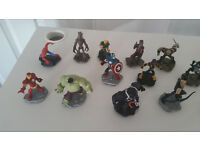 disney infinity game and figures