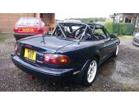 Mazda mx5 supercharged track race car