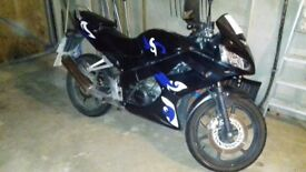 Honda CBR 125 RW Motorbike for sale