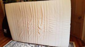 Double mattress (140cm x 200cm) Ikea Foam Morgedal