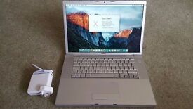 macbook pro 4gb ram 500gb Hdd