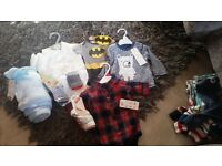 Baby boys clothes first size to 6 months
