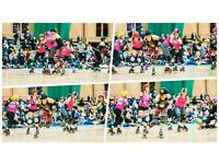 Learn to play roller derby with Newcastle Roller Girls
