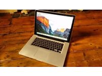 "Macbook Pro 15.4"" 8GB RAM Intel Core i5 240GB SSD (A1286) 2010"