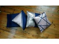Midnight Glamour Cushion Cover Collection