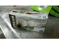 Liss Cream chargers x 72