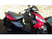 Sym sport x50. scooter for parts
