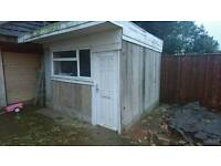 Marley concrete shed