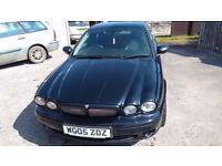 Jaguar X Type 2.0d Turbo Sport Diesel ,MOT, LEATHER, GOOD MPG.