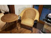 Wicker chair from John lewis